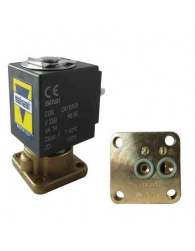 Sirai 2 weg magneetventiel 230V 50Hz flensaansluiting