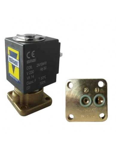 Sirai solenoid 2 way valve with base mounting 230V 50Hz