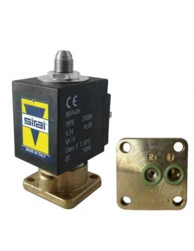 Sirai magneetventiel 3 weg 24V AC