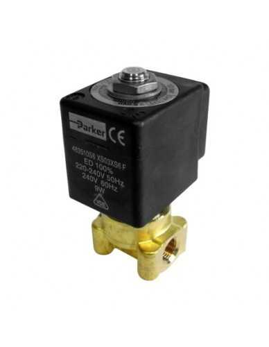 "Lucifer solenoid valve 2 way 1/8"" 1/8"" 220/240V 50/60Hz"