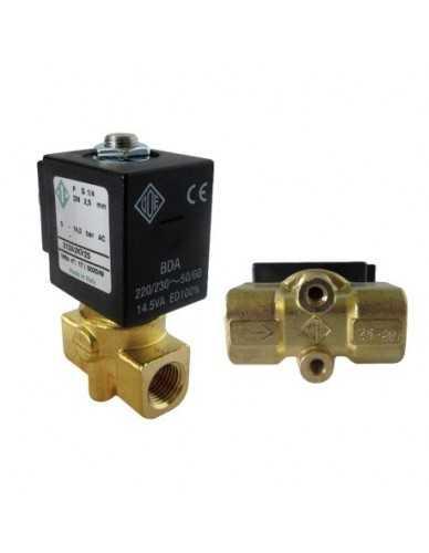 """Ode solenoid valve 2 ways 1/8"""" 1/8"""" 230V 50/60Hz"""
