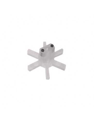 Durchflussmesser mit zwei Magneten Lüfter