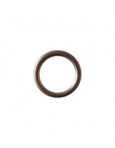 """Rondelle en cuivre écrasable 1/4 """"18x14x2mm"""
