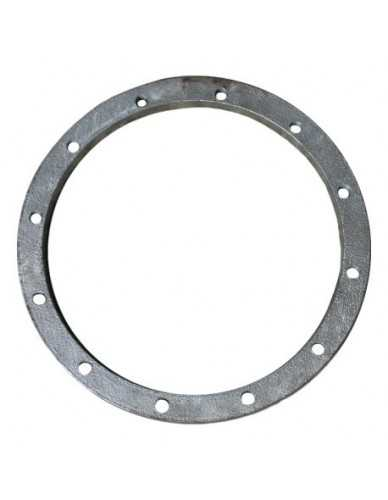 Faema E61 aluminium boiler ring 12 gaten 246X210X10mm