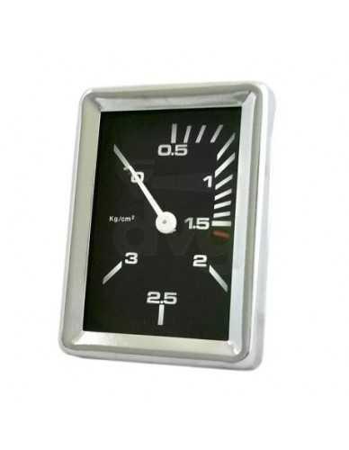Faema Boiler manometer D.52 0-3 bar