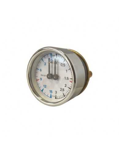 La Cimbali kessel pumpe manometer 0-3 / 0-15 bar