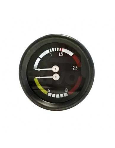 Astoria boiler pomp manometer 0-2 / 0-16 bar