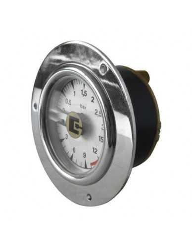 San Remo boiler pomp manometer 0-3 / 0-15 bar