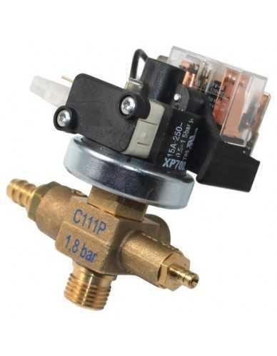 Pressure switch XP700+C110P 0.5 - 1.5 Bar 110V