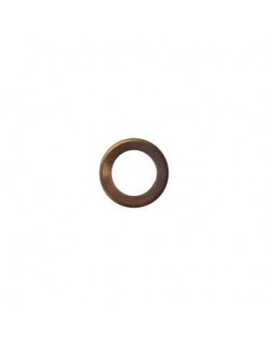 Flat copper gasket 23x17x1.5mm