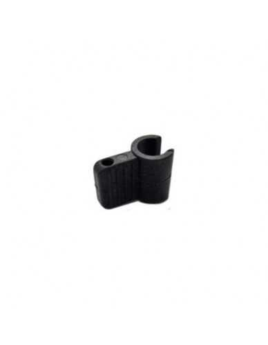 Anti scorch plastic hand clip for steam wand 10mm