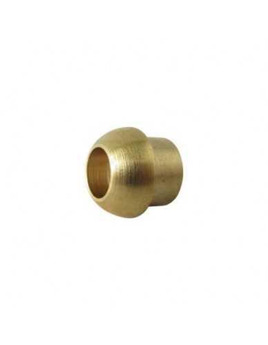 "Brass welding cap 6mm for 1/4""nut"