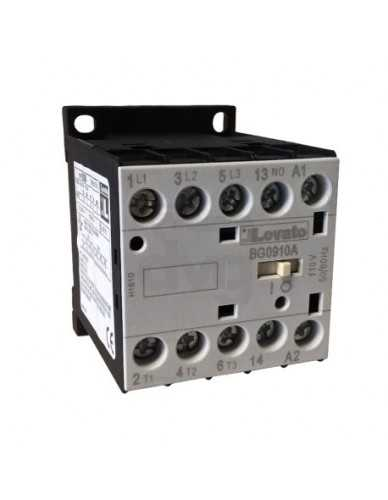 Relais 3 fasen AC3 9A 4Kw (400V) 110V 50/60Hz