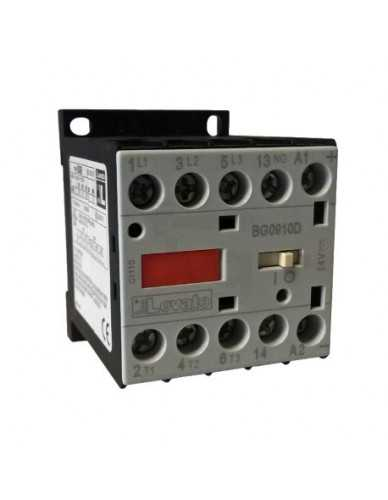 Contattore trifase AC3 9A 4Kw (400V) bobina 24V DC