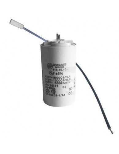 电容8μF450V,带电缆