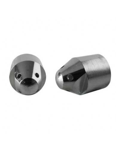 Chromed steam stem 4 holes dia 1,5mm
