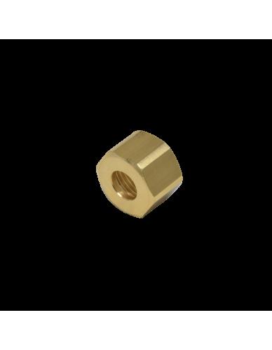 Messing moer 1/2 voor 12mm soldeer fitting