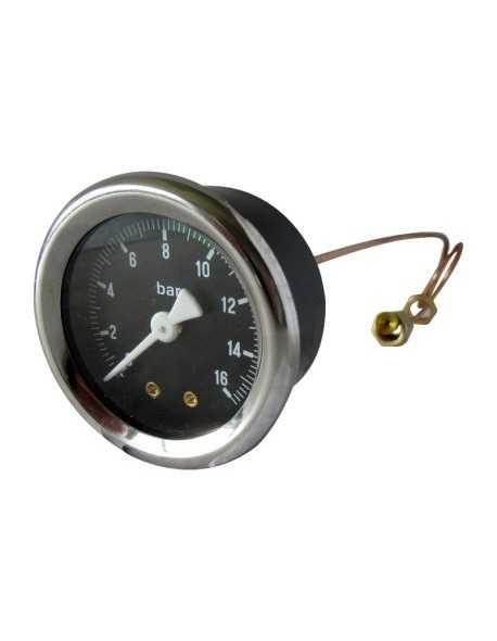 Vibiemme pomp manometer 0 - 16 bar