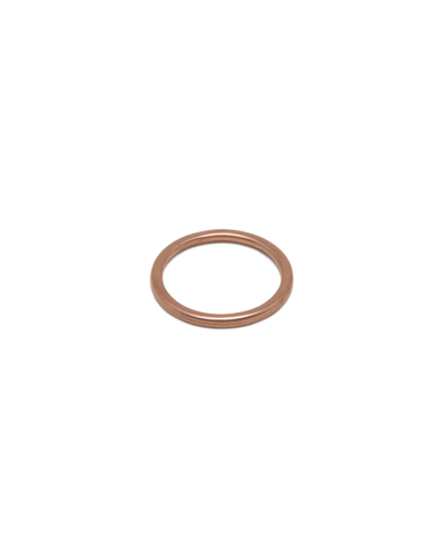 Crushable copper washer 26x24.4x2.2mm 1/2""
