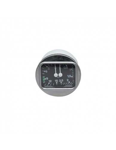 Brasilia kessel und pumpe manometer 0-3 / 0-15 dia 70 mm