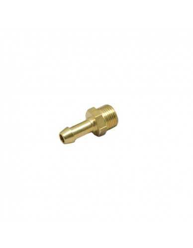 """Brass hose barb 3/8"""" M dia 8 - 10mm"""