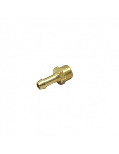 "Messing slang connector 3/8"" M dia 8 - 10mm"