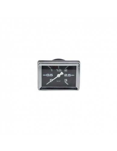 Gaggia rechteckig manometer 0 - 3 boiler