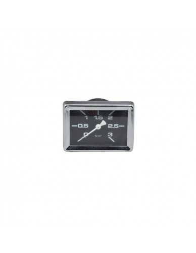 Gaggia rectangular manometer 0 - 3 boiler