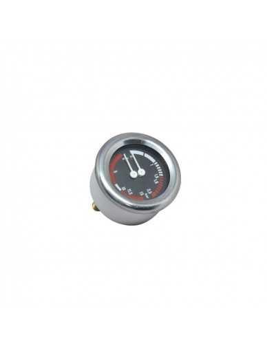 Boiler pomp manometer 0 - 2.5 / 0 - 15 bar 63mm