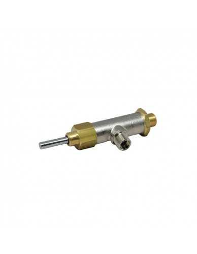 Grimac chrome plated water/steam valve