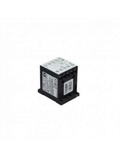 Contattore trifase AC3 9A 4Kw (400V) bobina 12V DC