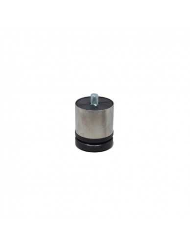 Pieds en acier inoxydable dia 50 H55 - 70mm