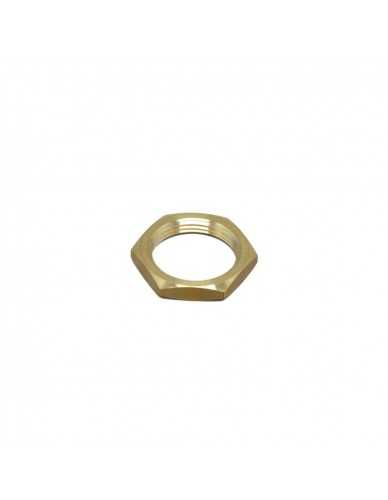 Half nut M26x1.5 brass