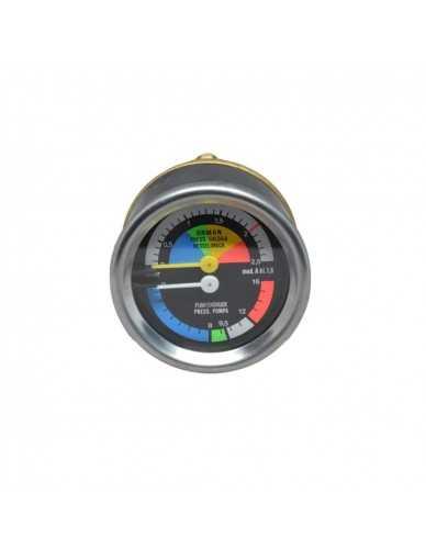 Wega manometer boiler pomp 0-2.5bar / 0-16bar