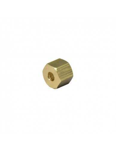Messing moer 3/8 voor 8mm soldeer fitting