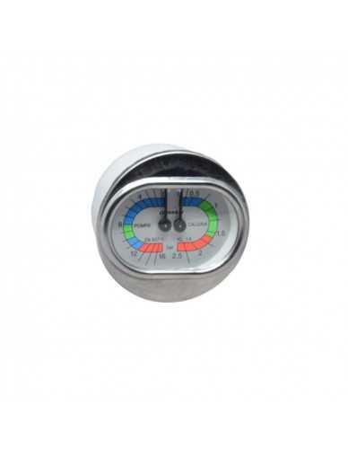 Boiler pumpe manometer 0 - 2.5 / 0 - 16 bar