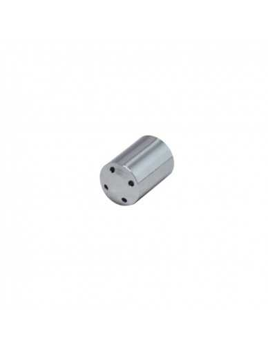 Chrome steam stem cylindrical 4 holes dia 1,5mm