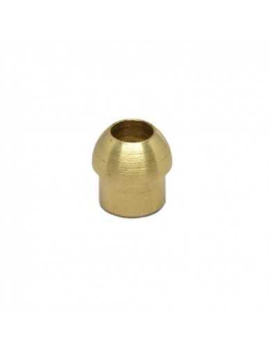 "welding end cap dia 8 mm nut 1/4"""