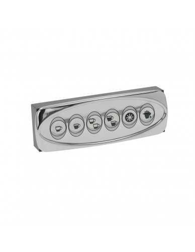 Bezzera touchpanel 6 buttons