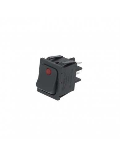 Schalter 5 polig 25x30mm