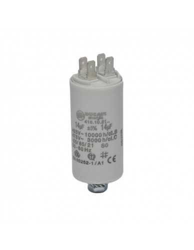 Ducati energia 14µF capacitor