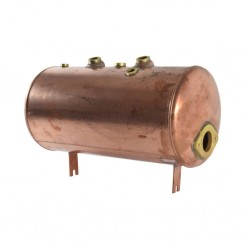 Aurora-Brugnetti - Boiler e manometro