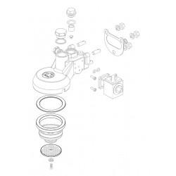 La Pavoni Magnet ventil gruppe
