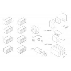Astoria Divina - Elektrische komponenten