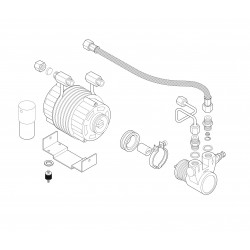 Astoria Divina - Motor and pump