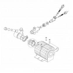 Bezzera B2009 - Motor and pump