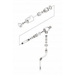Bezzera B6000 - Dampf hahn