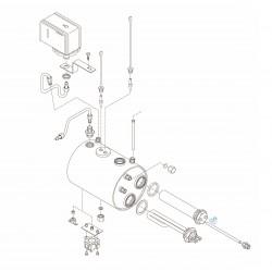 Bezzera BZ35 - Boiler