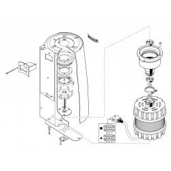 La Cimbali Magnum - Maalschijven en motor
